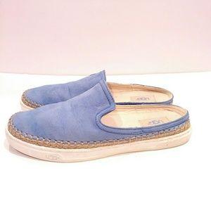 Ugg Caleel Slip On Sneaker light blue shoes 9